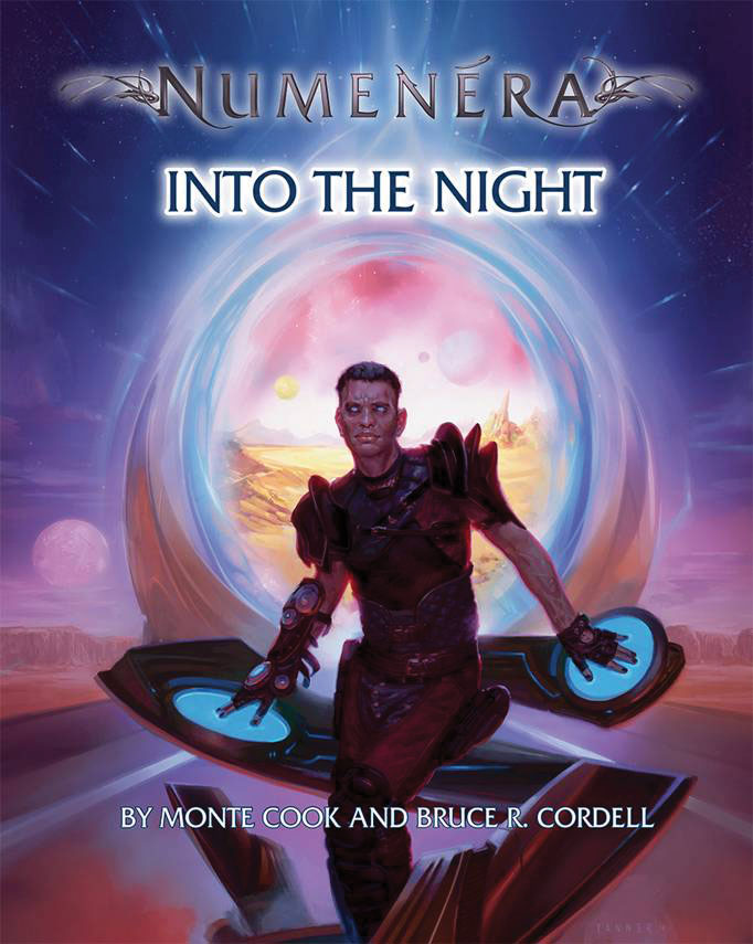 Numenera Rpg: Into The Night Hardcover Box Front