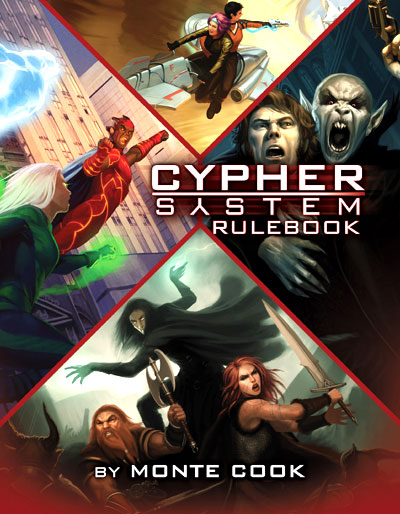 Cypher System Rpg: Core Rulebook Hardcover Box Front