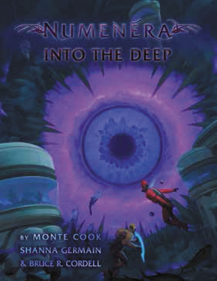 Numenera Rpg: Into The Deep Hardcover Box Front