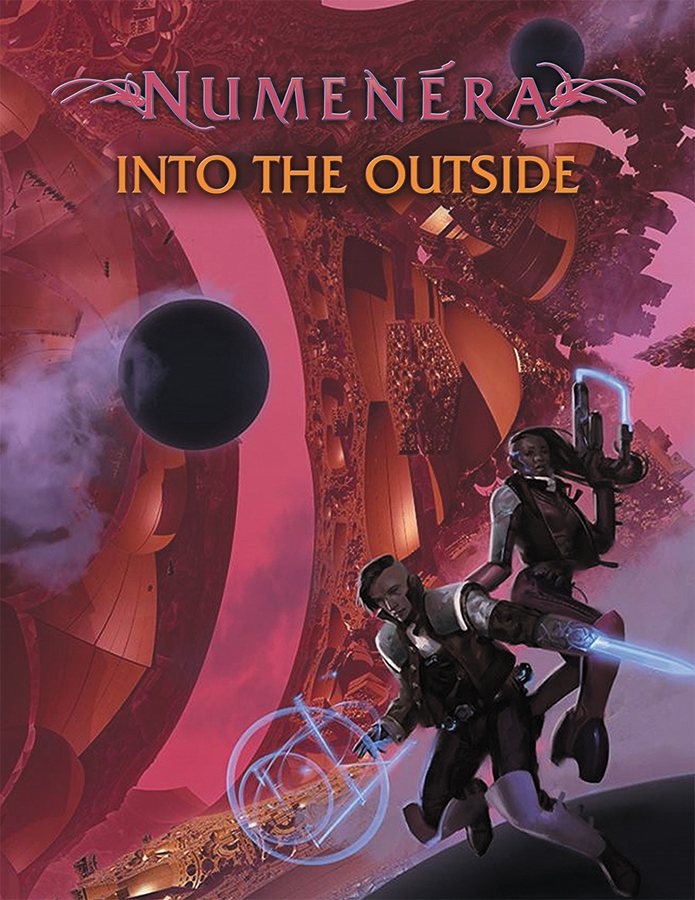 Numenera Rpg: Into The Outside Hardcover Box Front