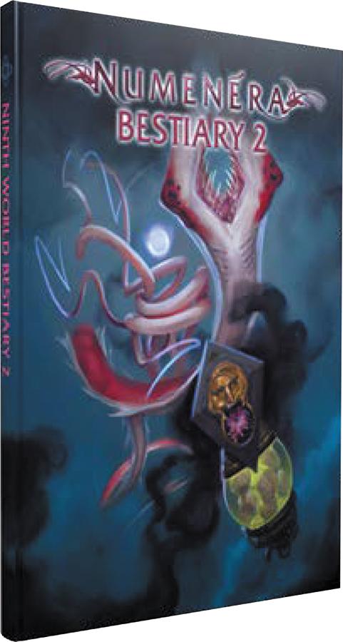 Numenera Rpg: Ninth World Bestiary 2 Hardcover Box Front