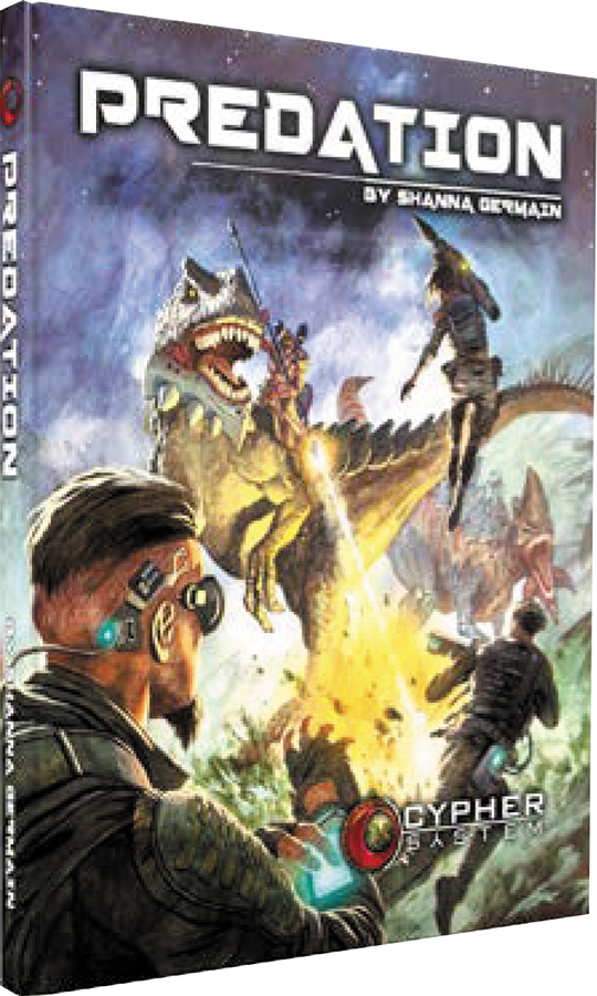 Cypher System Rpg: Predation Hardcover Box Front