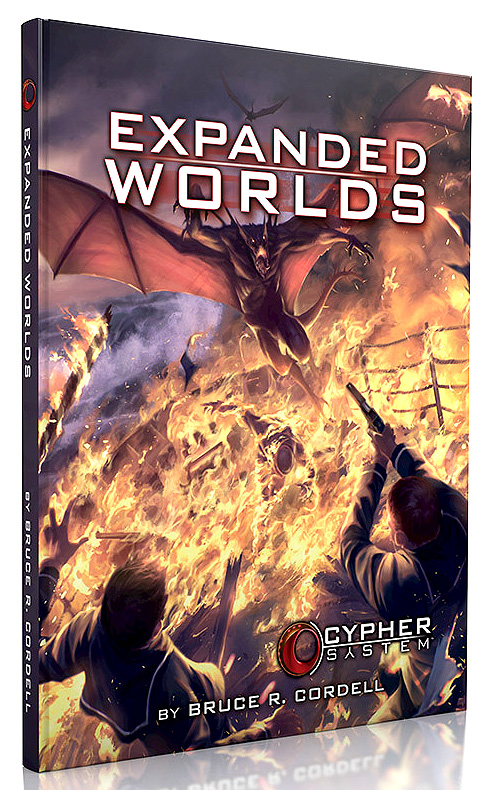 Cypher System Rpg: Expanded Worlds Hardcover Box Front