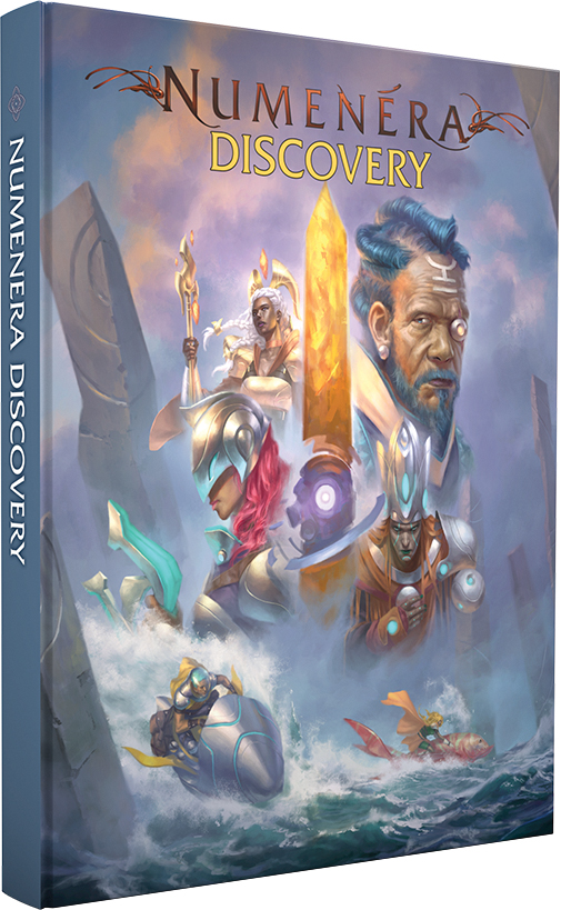 Numenera Rpg: Discovery Box Front