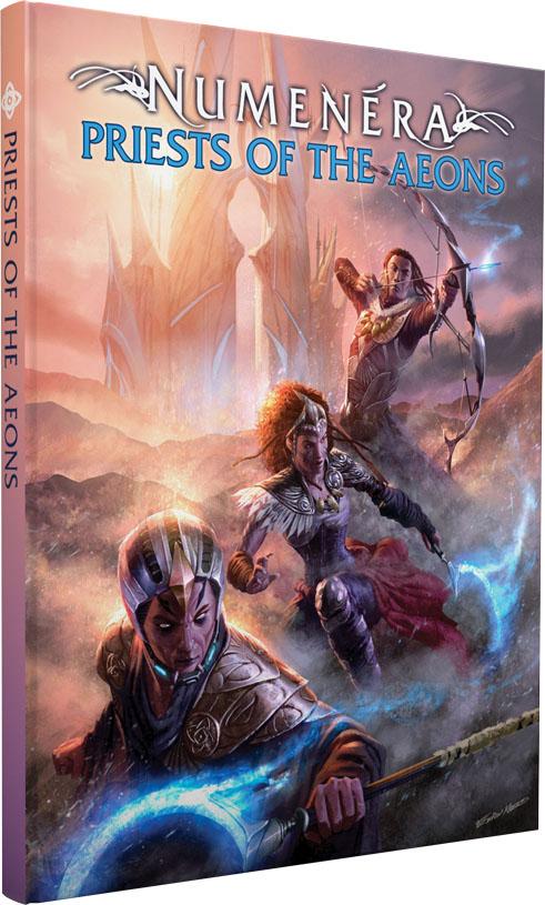 Numenera Rpg: Priests Of The Aeons  Game Box