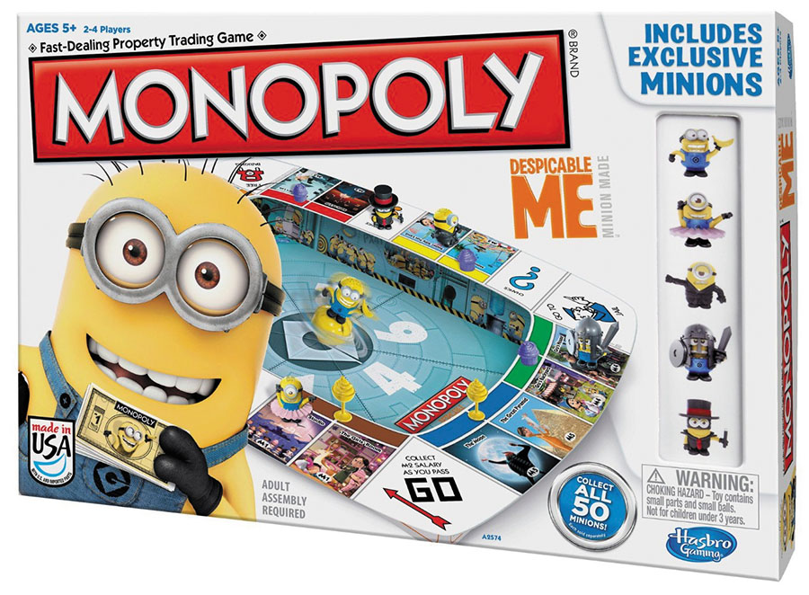 Monopoly: Despicable Me Box Front