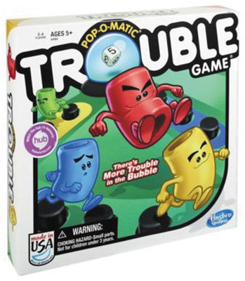 Trouble Box Front