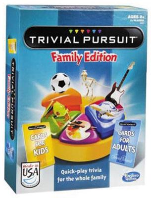 Trivial Pursuit Family Box Front