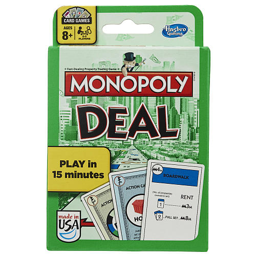 Monopoly Deal Card Game Box Front