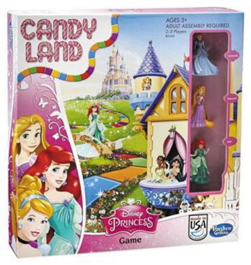 Candyland Princess Edition Box Front