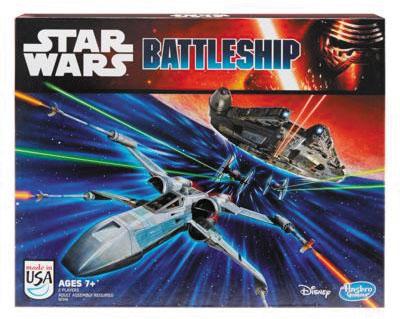 Star Wars Battleship Box Front
