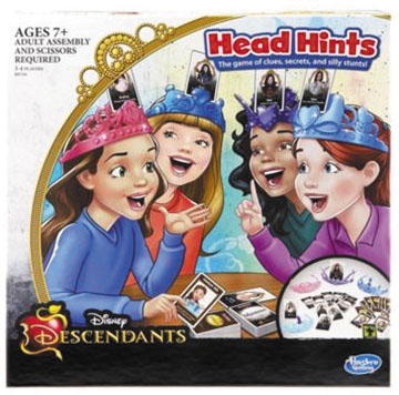 Disney Descendants Head Hints Box Front