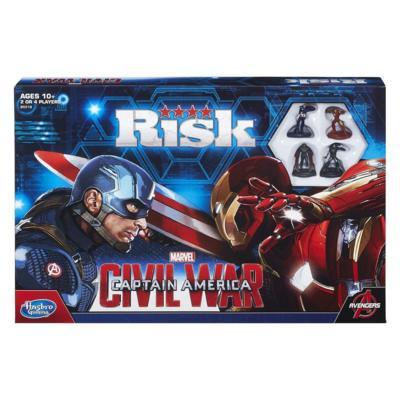 Marvel Captain America Civil War Risk Box Front