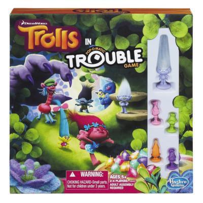 Trolls Trouble Box Front