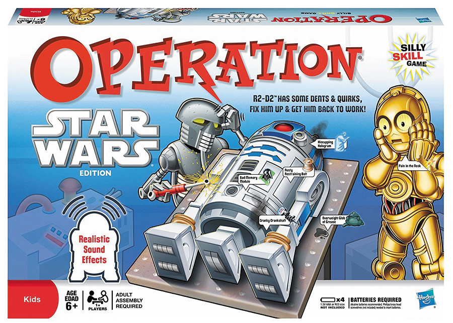 Operation: Star Wars Box Front
