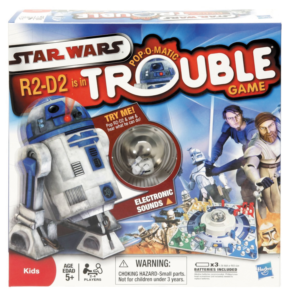 Star Wars Trouble Box Front