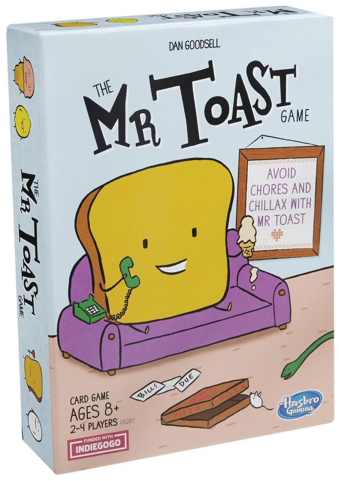 Mr. Toast Box Front