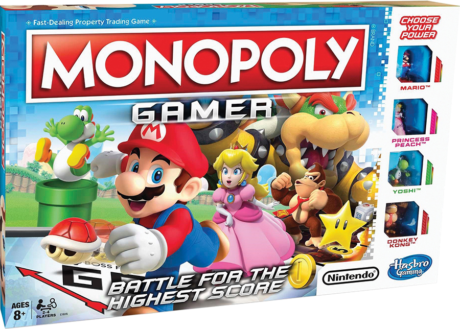 Monopoly: Gamer Box Front
