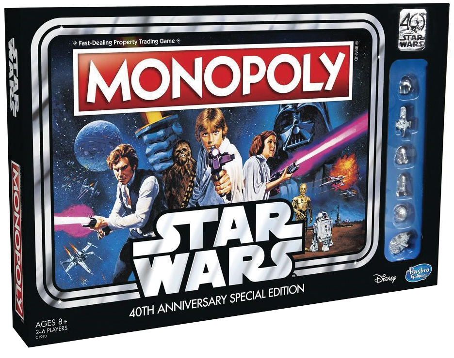 Monopoly: Star Wars - 40th Anniversary Edition Box Front