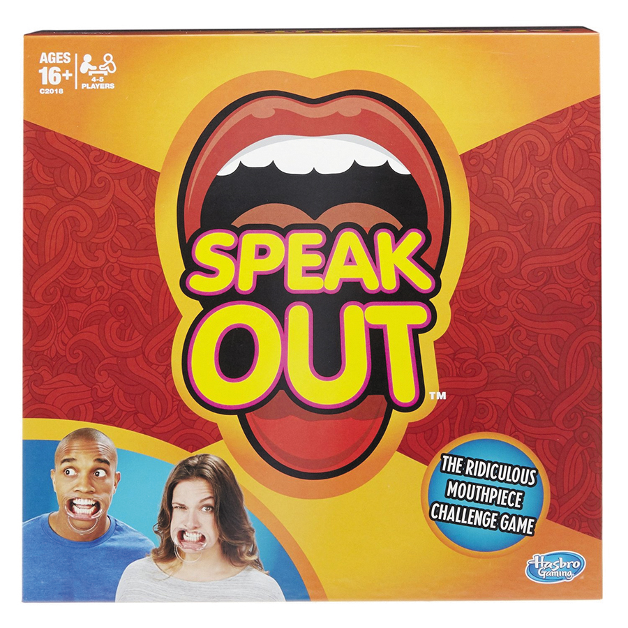 Speak Out Box Front