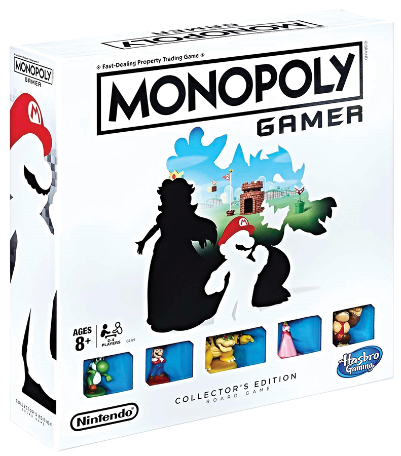 Monopoly: Gamer Collector`s Edition Box Front