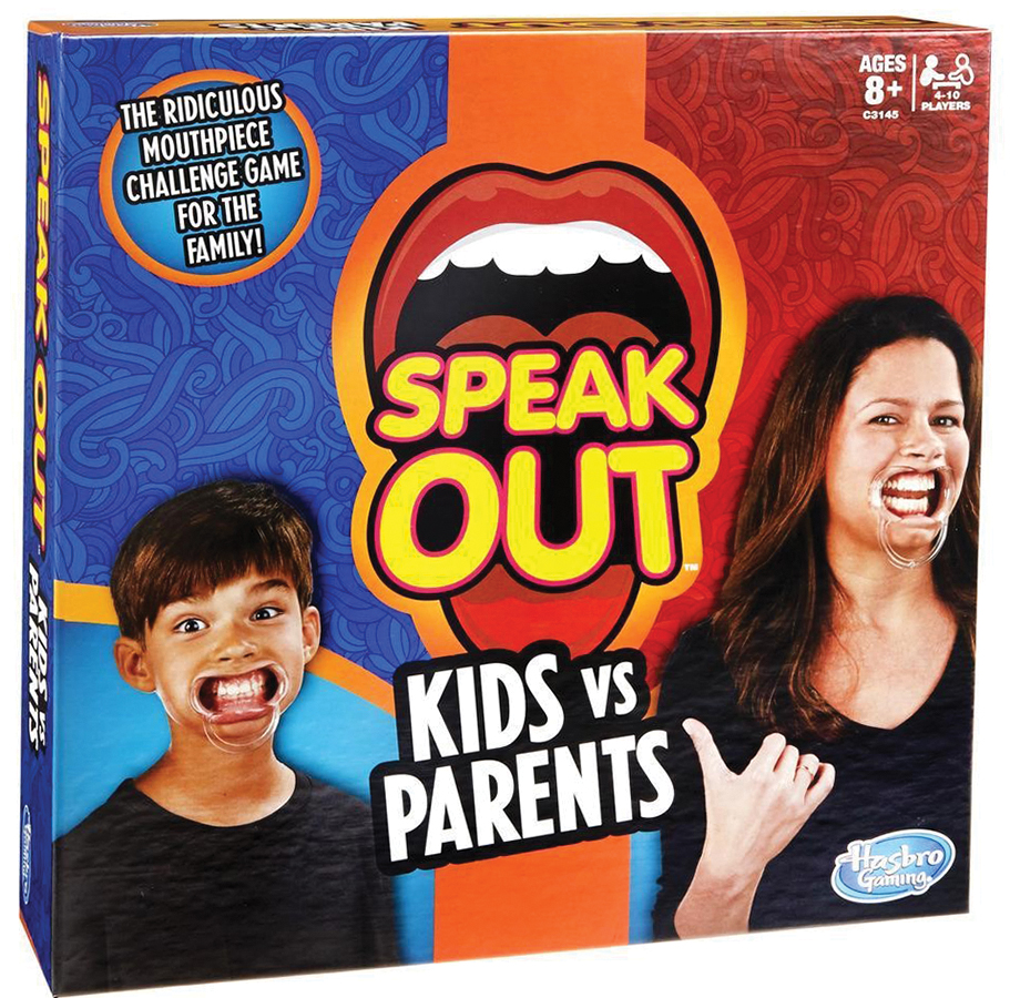Speak Out: Kids Vs. Parents Box Front