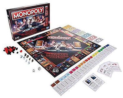 Stranger Things Monopoly Box Front