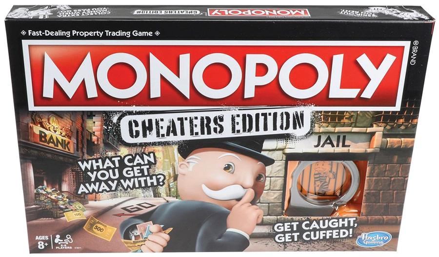 Monopoly: Cheater`s Edition Box Front