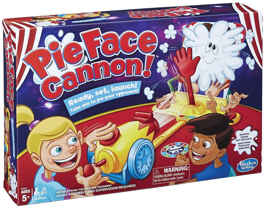 Pie Face Cannon Game Box