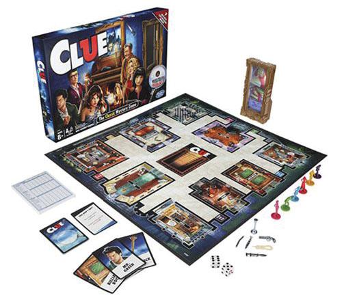 Clue: Classic Reveal Game Box