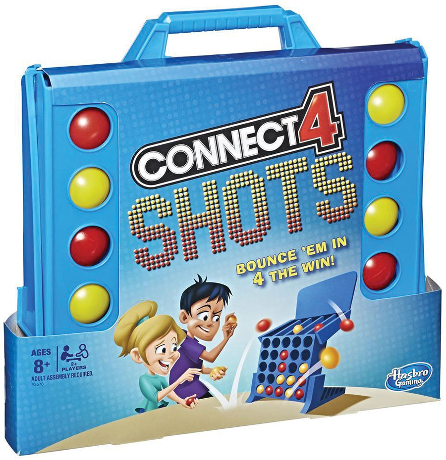 Connect 4: Shots Game Box