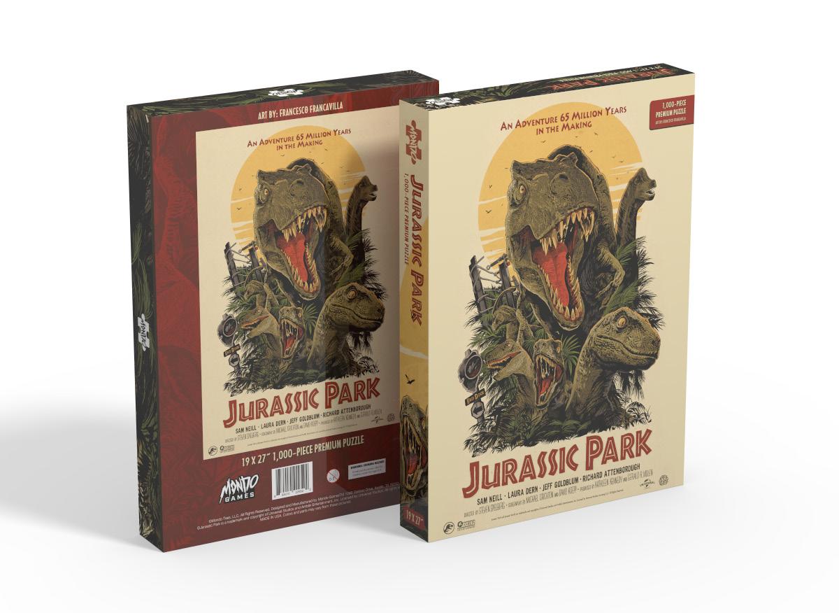 Jurassic Park 1000 Piece Puzzle