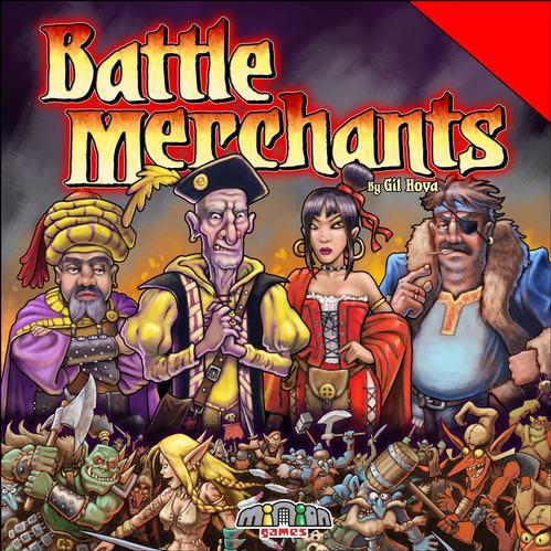 Battle Merchants Box Front