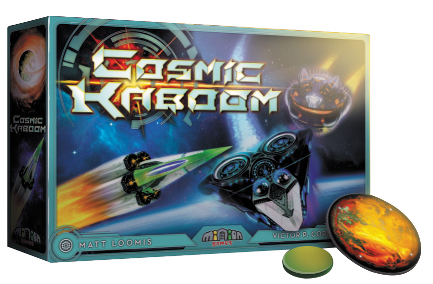 Cosmic Kaboom Game Box