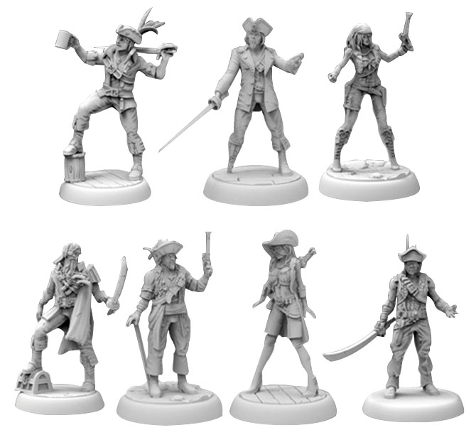 Dead Men Tell No Tales: Miniatures Pack Game Box