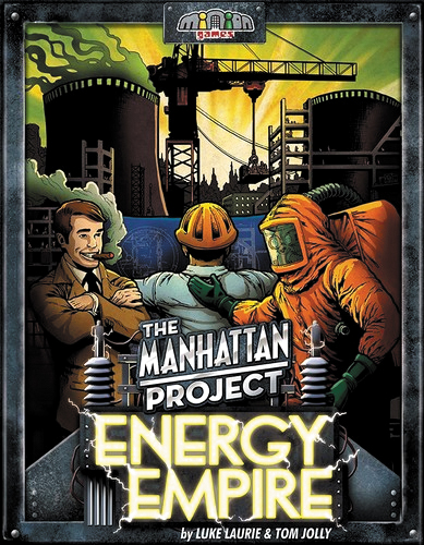 The Manhattan Project: Energy Empire Box Front