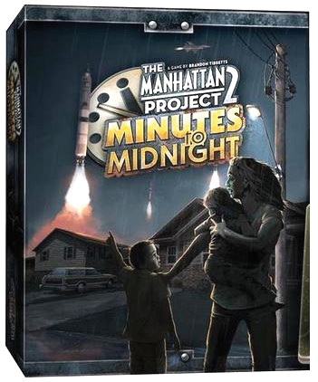 The Manhattan Project 2: Minutes To Midnight Game Box