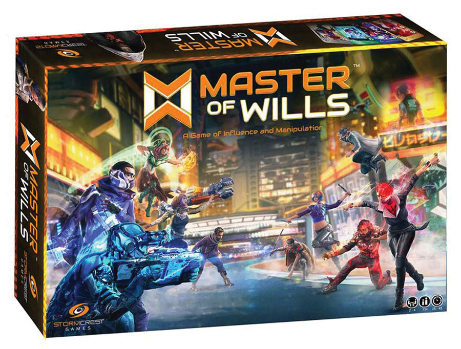 Master Of Wills Game Box