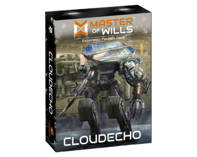 Master Of Wills: Cloudecho Expansion Deck Game Box