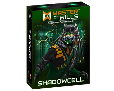 Master Of Wills: Shadowcell Expansion Deck Game Box