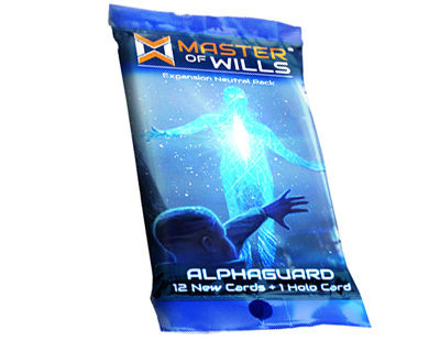 Master Of Wills: Alphaguard Fringe War Pack Game Box