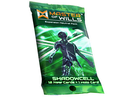Master Of Wills: Shadowcell Fringe War Pack Game Box