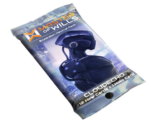 Master Of Wills: Cloudecho Fringe War Pack Game Box