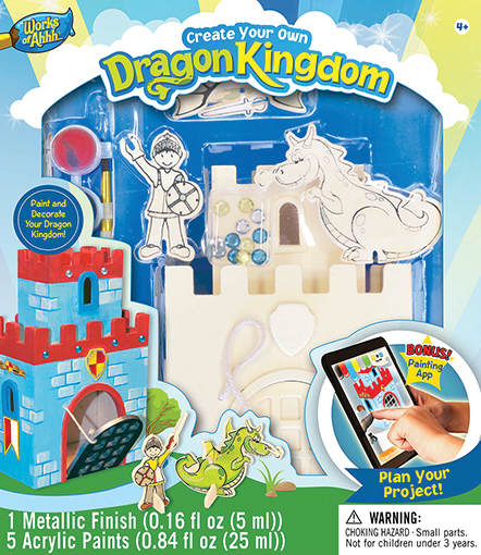 Classic Wood Paint Kit: Dragon Kingdom Box Front