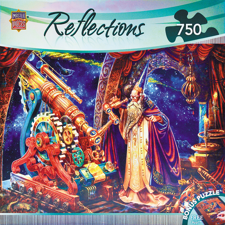 Reflections: The Astronomer 750pc Box Front