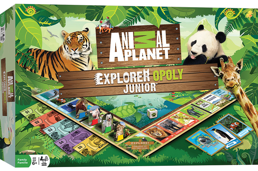 Animal Planet-opoly Junior Game Game Box