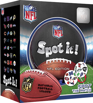 Spot It! Nfl League Version Box Front