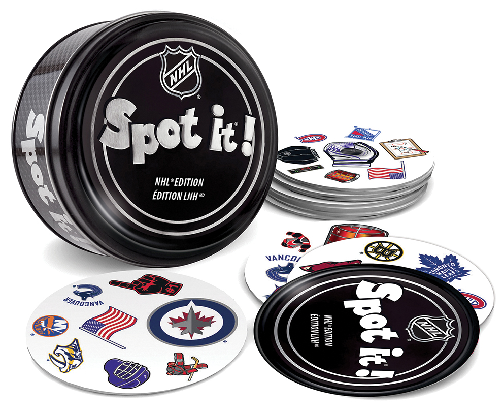 Spot It! Nhl League Version Box Front