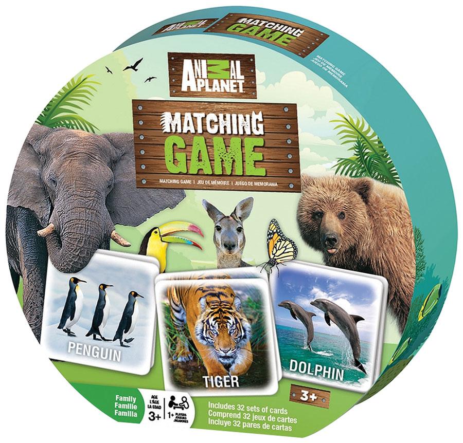 Animal Planet Matching Game Game Box