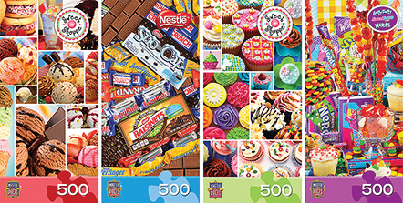 Space Saver Box: Sweet Shoppe (4) 500pc Box Front